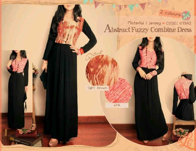 Abstract Fuzzi Combine Maxi Dress(material Jersey) Rp.100rb Min2 Rp.95rb, all size fit to L