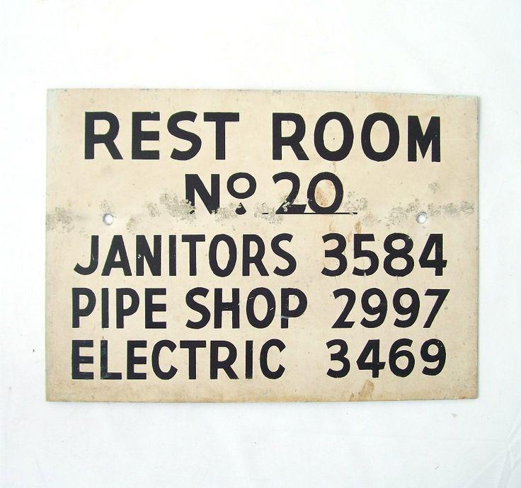 Bathroom Signs Vintage 200 best restaurant bathrooms images on pinterest | bathroom signs