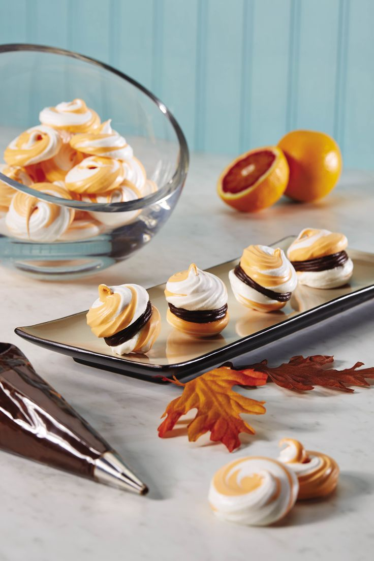 Orange is such a versatile flavor.  Sandwich these orange meringue cookies with chocolate ganache for a fall cookie to add to your Thanksgiving table. Ganache is a staple in every Pastry Chefs kitchen! These cookies are the perfect sweet all year-round! Continue reading →