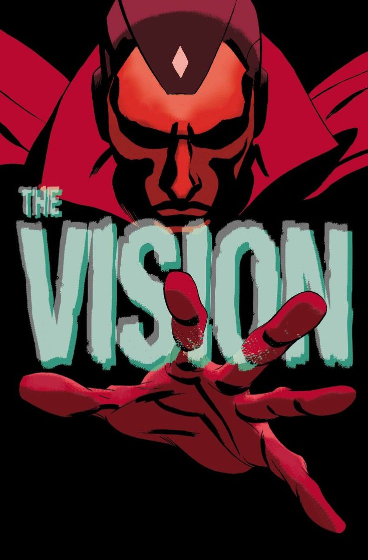 The Vision byRYAN SOOK. - Living life one comic book at a time.