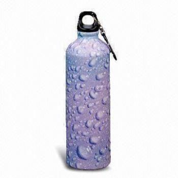 Sports Water Bottle in Water Drop Design
