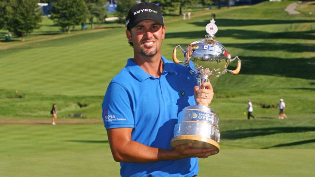 Scott Piercy at the RBC Canadian Open