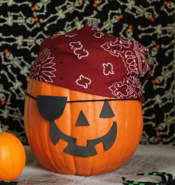 30 no carve pumpkin ideas for halloween decoration - Halloween Decorations Pumpkins