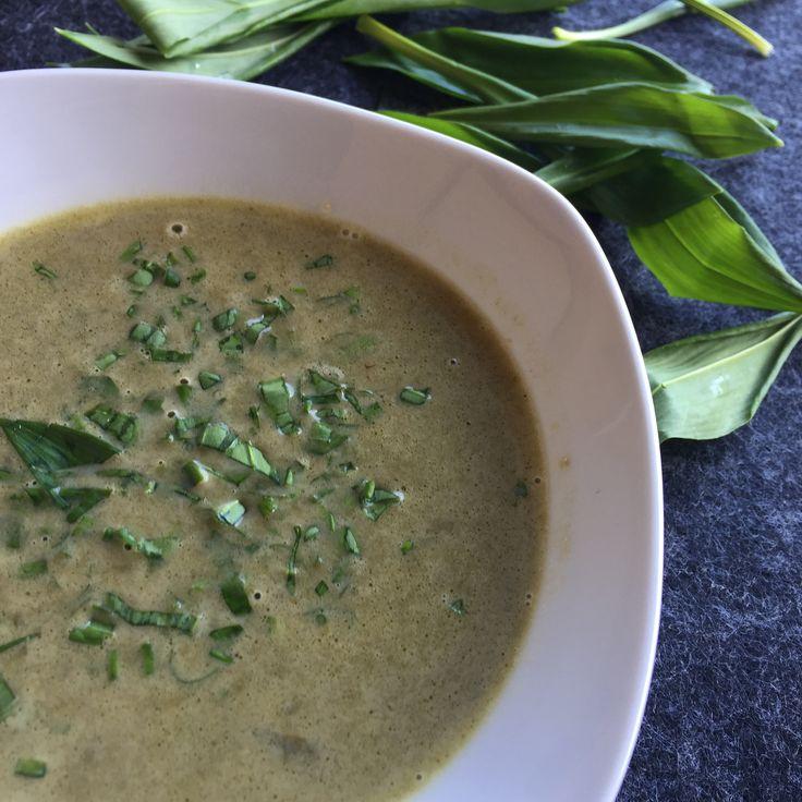 Bärlauch, Suppe, Sojasauce, Ingwer vegetarische Rezepte