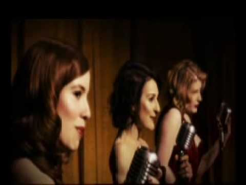 My new musical love The Puppini Sisters....sounds just like the Andrew Sisters!