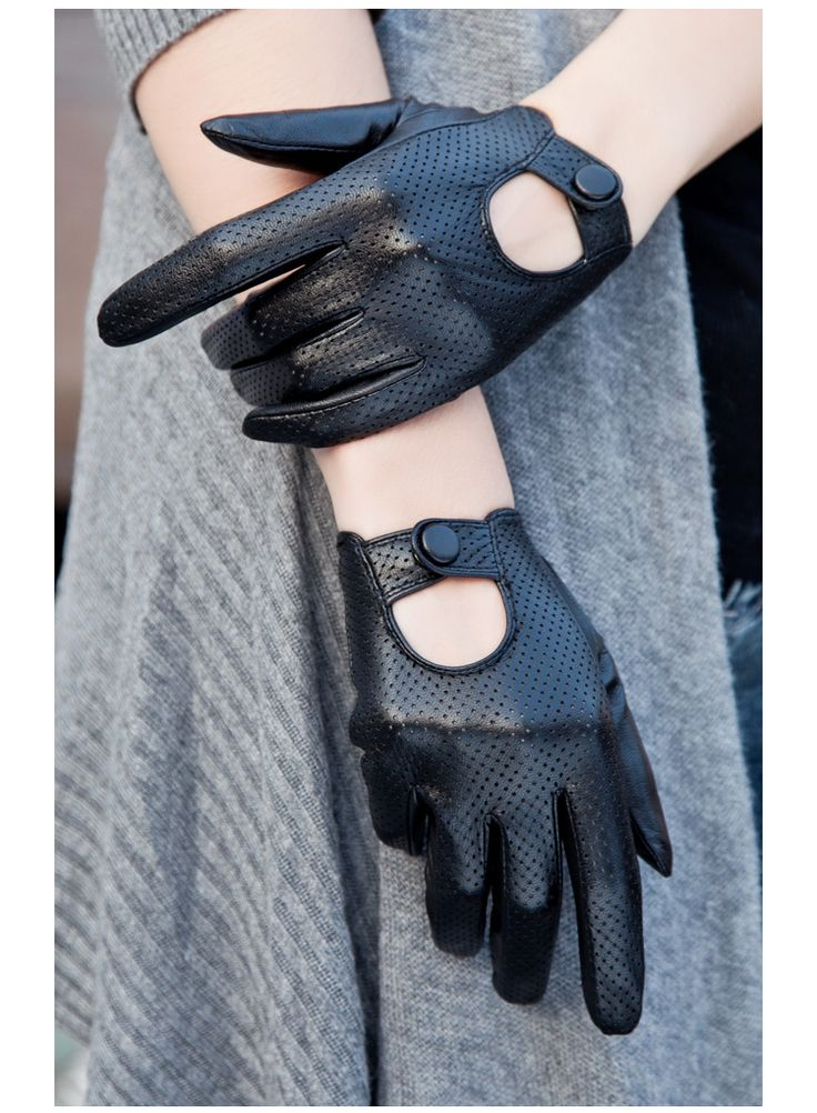 Best 25 Black Leather Gloves Ideas On Pinterest Leather