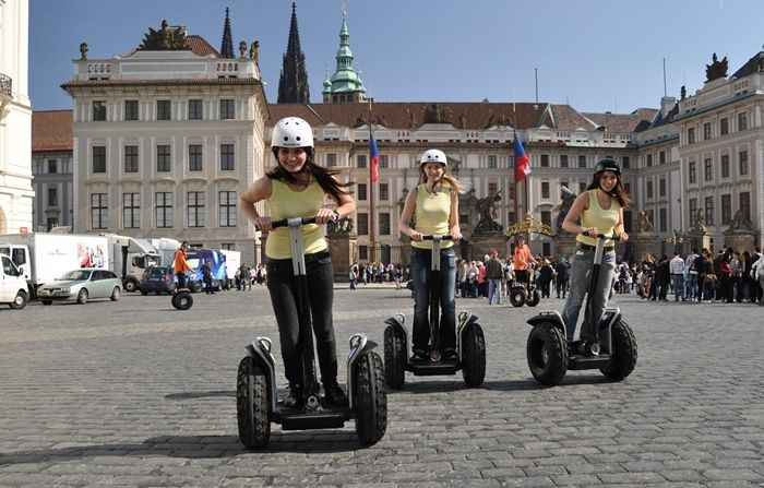 Segway rental is easily available for the Prague city tour. Visit: http://www.segwayfun.eu/
