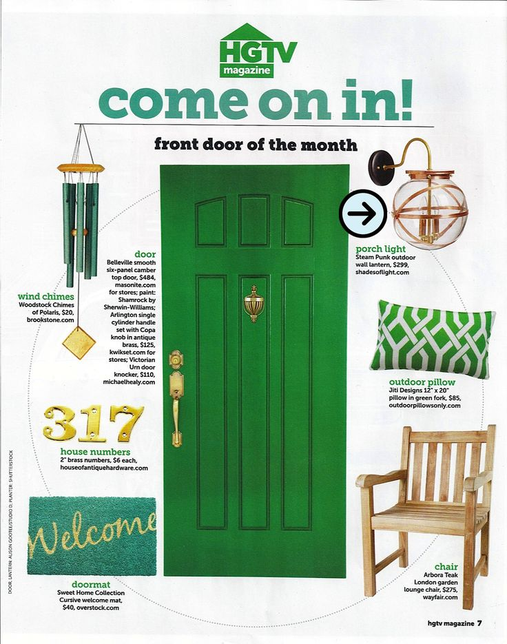 HGTV magazine + front doors - Google Search