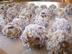 Set Your Heart To Seek God: Protein Balls