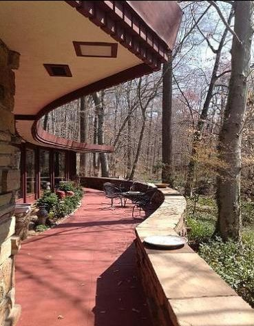 "The Dudley Spencer House is a Frank Lloyd Wright designed Usonian home in Wilmington, Delaware. Wright designed this home in 1956 and named it ""Laurel""."