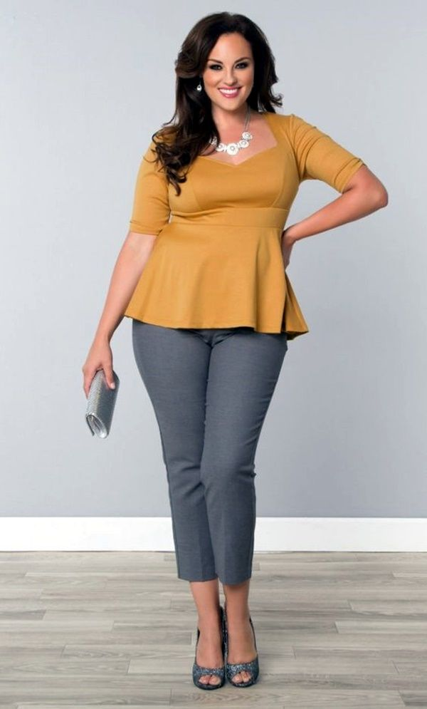 Work clothes for plus size women
