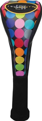 Fairway Headcovers by Loudmouth Golf - Disco Balls Black.  Buy it @ ReadyGolf.com