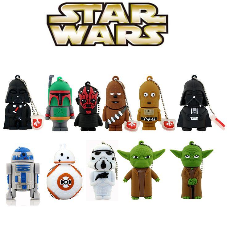 11 styles Star Wars flash drive //Price: $11.49 & FREE Shipping //     #starwarsbattlefront  #starwars7  #starwarsfans  #starwarsactionfigures