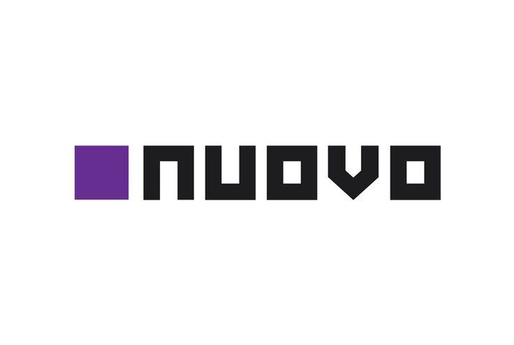 Logotype of the Graphic and Web studio NUOVO.