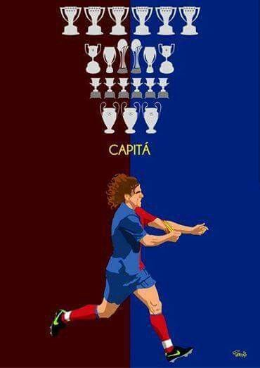 Carles Puyol, Capitan #barcelona