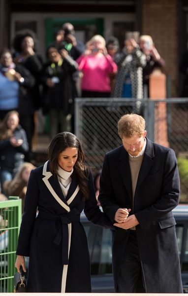 Prince Harry and Meghan Markle visit Nechells Wellbeing Centre to join Coach Core apprentices taking part in a training masterclass  on March 8, 2018 in Birmingham, England. The Coach Core apprenticeship scheme was designed by The Royal Foundation of The Duke and Duchess of Cambridge and Prince Harry to train young people aged 16 - 24 with limited opportunities to become sports coaches and mentors within their communities.
