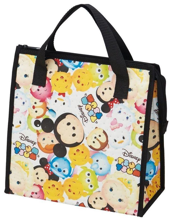 New Disney Tsum Tsum Reusable Thermal Cooler Bag Bento Lunch Bag Japan