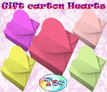 """Mother's Day   Gift carton Hearts  Craft  Editable Template Mother's Day activities Here is a fun """"Gift carton Hearts"""" to do with your children who enjoy doing crafts.This ZIP  file contains : 4 products- 7 pages PDF +  1 JPG file (Gift carton Hearts - Mother's Day and Father's Day, Spring, Valentine's Day )- 7 slides Editable Template - 14 slides(Santa Claus) 1 pages PDF- 8 slides Teacher gift - PowerPoint presentation Use F5 for full screen and clicks or keyboard arrows to run…"""