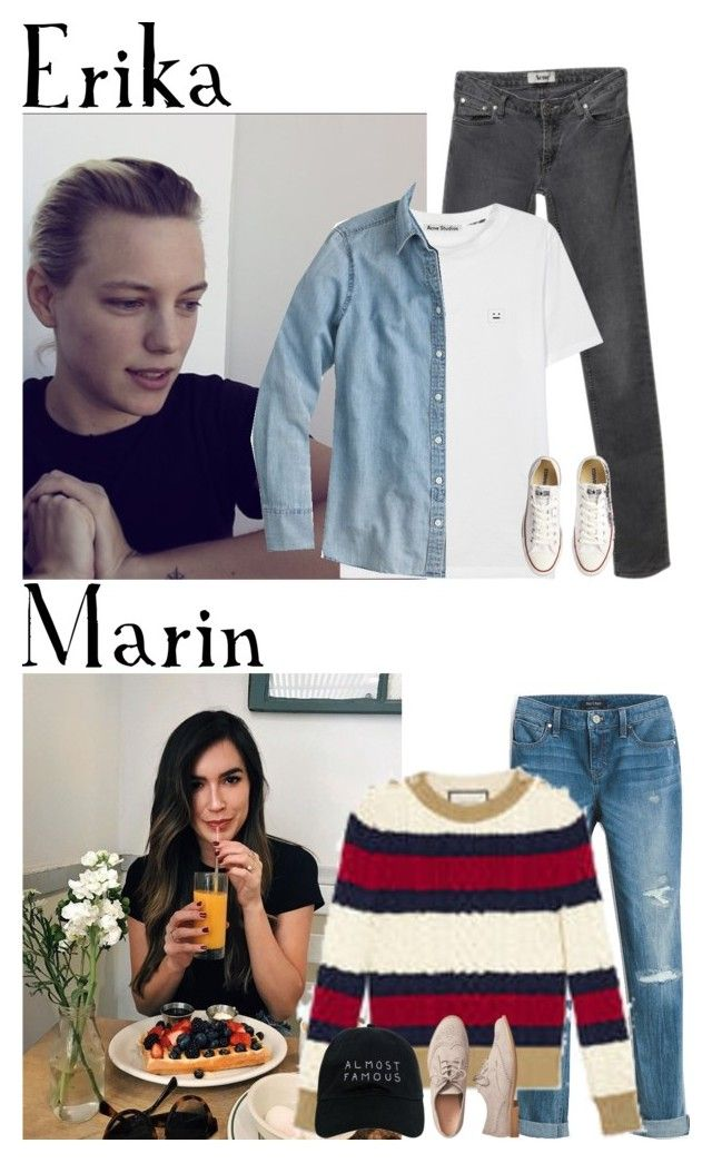 """Thursday // Day Two of Shooting a Promo Video at Disneyland // 1/26/17"" by graywolf520 ❤ liked on Polyvore featuring Acne Studios, J.Crew, White House Black Market, Converse, Gucci, Gap, Nasaseasons and MarinandErika"