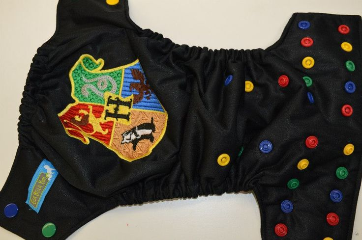 I currently own this Harry Potter Hogwarts Crest EBB (Ella Bella Bum) Pocket Cloth Diaper. However, it's not really love and would prefer an actual crest from the books/movies. Will probably sell this one soon.