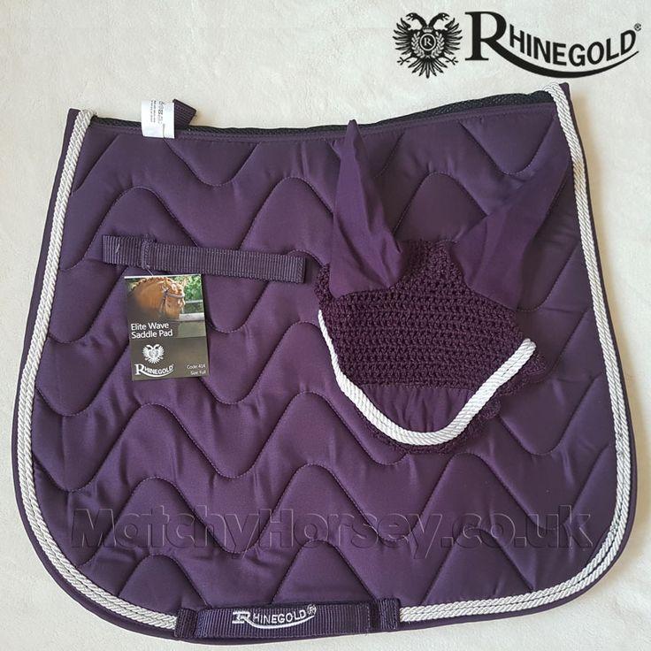 Rhinegold Wave Saddle Pad-Full-Turquoise