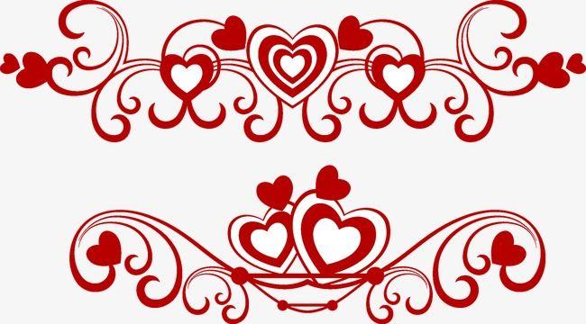 Valentine Love Pattern Border Valentine Vector Love Vector Pattern Vector Png Transparent Clipart Image And Psd File For Free Download Clip Art Pattern Valentine