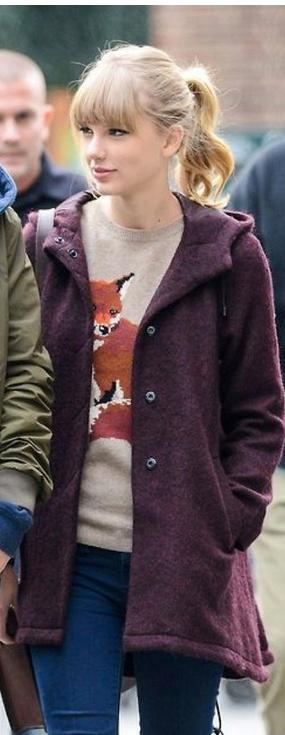 Coat – Topshop, Sweater – Aubin & Wills (dec 2012)
