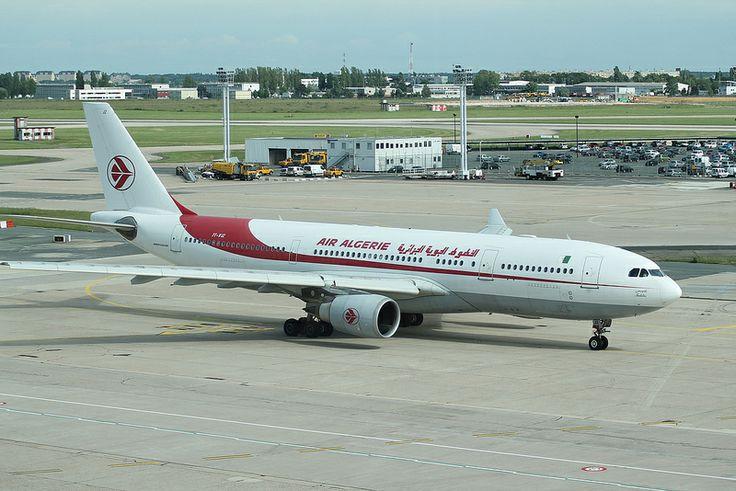 Airbus A330: 0667 7T-VJZ A330-202 Air Algerie Paris Orly Airport