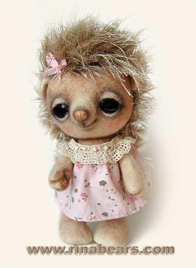 rinabears】Душечка ♥ Felt Wool Doll