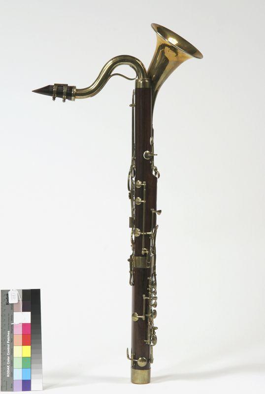 Bass clarinet (Stengel, mid 19th c.)