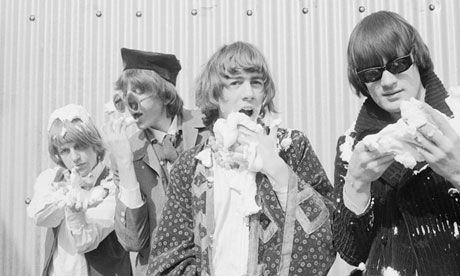 Robert Wyatt, Daevid Allen, Kevin Ayers and Mike Ratledge of Soft Machine