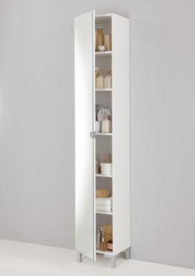 Hochschrank Weiss Jetzt Bestellen Unter Https Moebel Ladendirekt De Bad Bad Tall White Bathroom Cabinet Bathroom Tall Cabinet White Bathroom Storage Cabinet