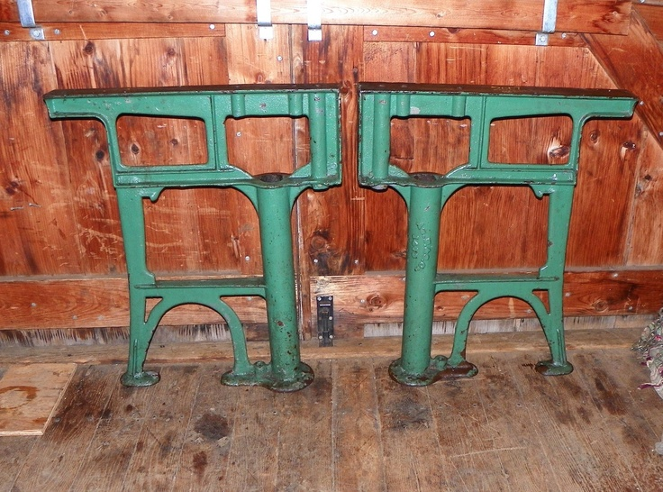 1000 images about cast iron legs on pinterest for Rustic iron table legs