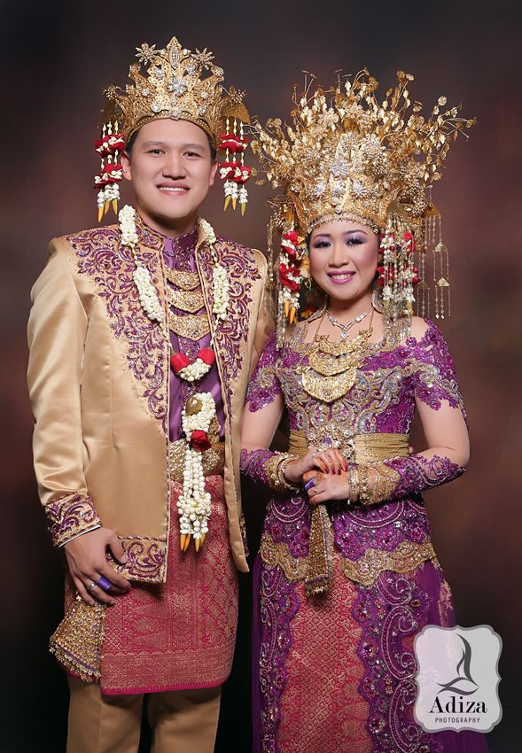 South of Sumatera Wedding Outfit