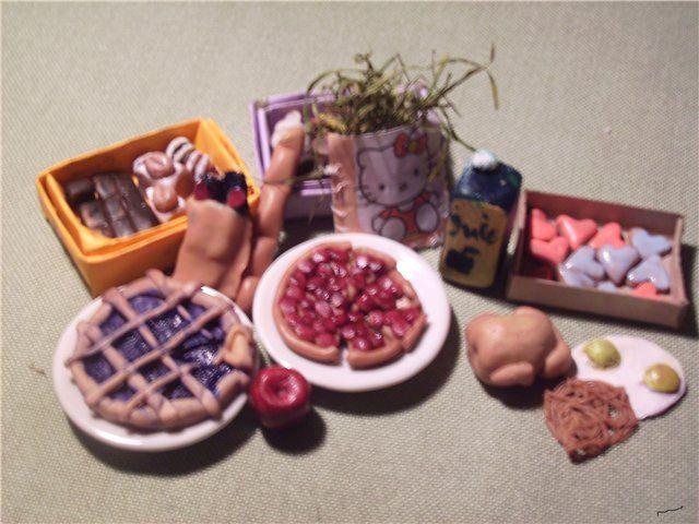 Мастер-класс. Как я лепила сладости.. Еда для кукол своими руками / Мастер-классы, творческая мастерская: схемы, выкройки кукол / Бэйбики. Куклы фото. Одежда для кукол