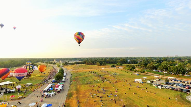 2015 InTouch Credit Union Plano Balloon Festival held at ...