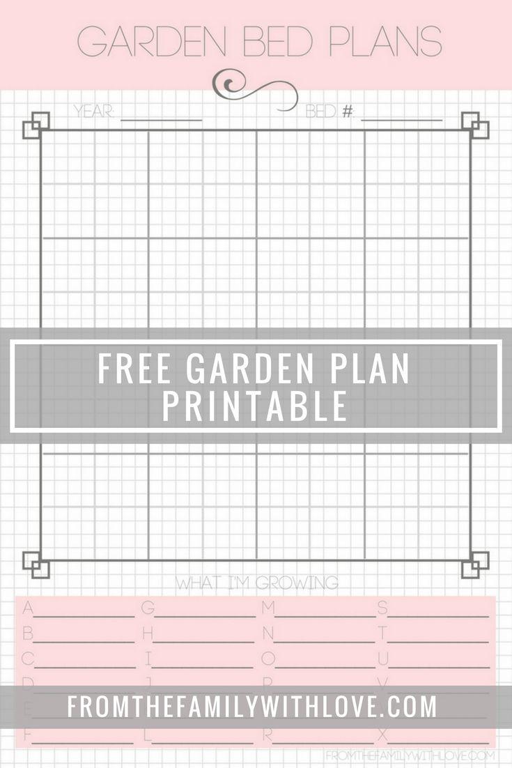 Free vegetable garden planner online - Free Garden Plan Printable Planner Seed Order Seed Inventory Square Foot Garden Plan