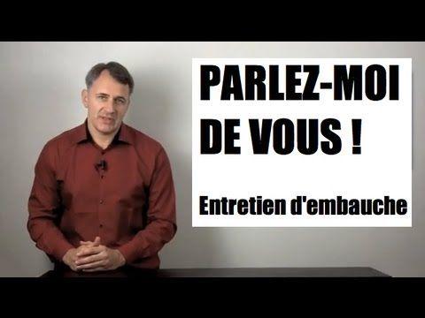Coaching entretien d'embauche : question Parlez moi de vous, Présentez-vous, exemples et simulations - YouTube