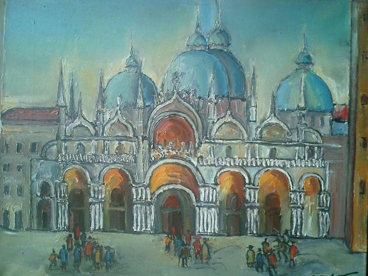 Ioan Cristea -Biserica San Marco- Venetia
