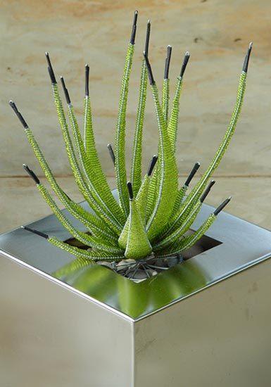 Obbligato plant pot accessories - bead cacti