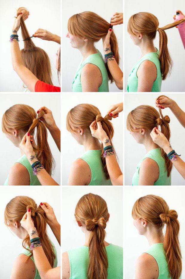 DIY Hairstyle - Easy Hairstyles Tutorials