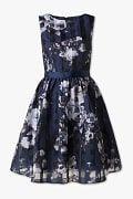Sukienka Fit & Flare - w uroczystym stylu - ciemnoniebieski