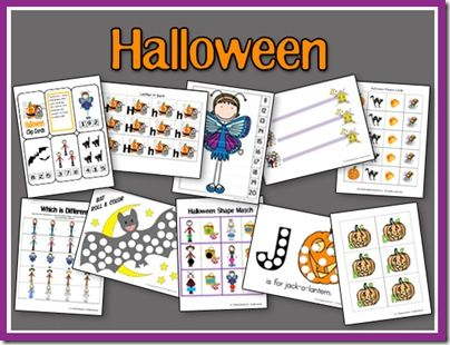 Expanded Halloween Pack: Halloween Preschool, Halloween United, Halloween Theme, Printable Halloween, Preschool Halloween, Preschool Printable, Halloween Expanded, Halloween Ideas, Halloween Activities