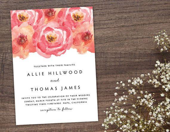 26 best hochzeit- einladungen images on pinterest | wedding, Einladung