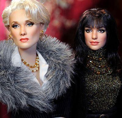 """Meryl Streep and Anne Hathaway from """"The Devil Wears Prada"""" By Noel Cruz"""
