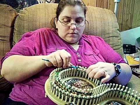 Simply Intertwined: Casting Off DA Looms Infinity II (Part 1 )