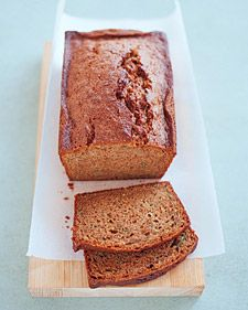 If you plan to bake this bread in a smaller loaf pan, be sure to fill it no more than three-quarters full to prevent the batter from overflowing in the oven.