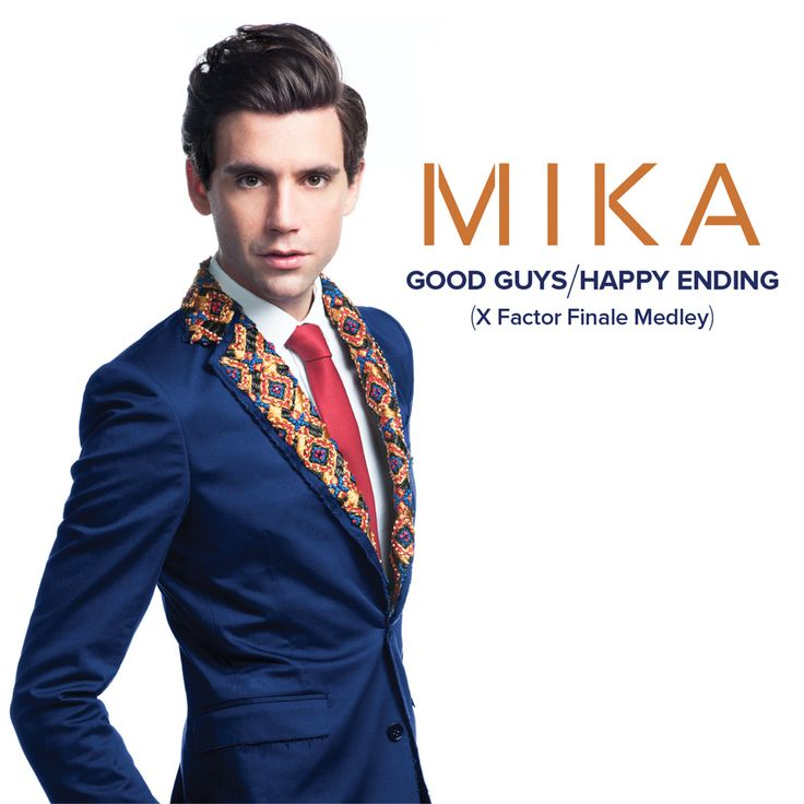 MIKA X Factor Medley digital cover  http://www.filippovezzali.com/web/works/work/?idw=185  https://itunes.apple.com/it/album/good-guys-happy-ending-x-factor/id950685218
