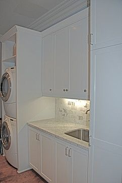 Laundry Stackable Design, Pictures, Remodel, Decor and Ideas - page 2