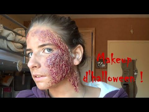 Tuto Makeup  Halloween , sans latex/sans faux sang , YouTube